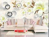 Peinture murale sans joint pour le fond du sofa TV