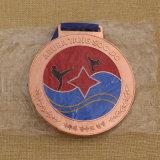 Het Medaillon van de Karate van de Medaille van het Metaal van de Levering van de Fabriek van de douane voor de Wedstrijd van de Karate