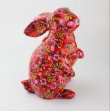 Tirelires en céramique peintes par lapin bleu direct de prix bas d'usine