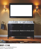 """Da """" gabinete de banheiro da madeira contínua alta qualidade 60"""