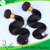 Extensão não processada barata do cabelo humano do Virgin do Weave do preço 100%