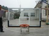 Tablero trasero de baloncesto al aire libre del vidrio Tempered para el mercado de los E.E.U.U.
