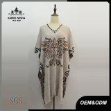 Vêtements spéciaux de modèle de robe de poncho de mode de femmes