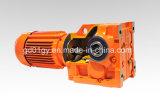 GS 시리즈 단단한 샤프트 설탕 롤러 선반을%s 나선형 벌레 기어 모터