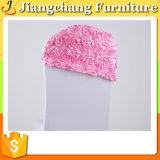 Sombrero y cubierta hermosos de la silla para las sillas del hotel