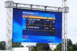 A tela de indicador ao ar livre de alta resolução da cor P4.81 cheia com bom Waterproof