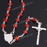 Gemengde Kleur 6mm van de Afzet van de fabriek Manier de Godsdienstige Halsband van Facetd van het Kristal