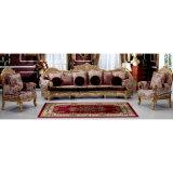 Sofá de madeira da tela com a cadeira do sofá para a mobília Home (962A)