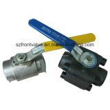 Geschraubt und Schalter schmiedete Stahlkugelventil