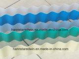 Material de construção ondulado do plástico da telhadura Sheet/UPVC da extensão da longa vida do PVC