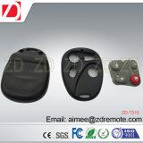 Cópia plástica de Univeral de 4 teclas de controle remoto para o código do reparo para a porta da garagem