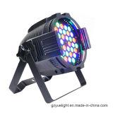 Hete Binnen LEIDENE van de Verkoop het Lichte 180W 54PCS * 3W RGBW LEIDENE Licht van het PARI