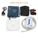 Monitor de pressão arterial ambulatorial CE & ISO Abpm Medição automática 24h bp com mangão livre -Maggie