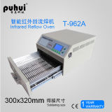 Calefator infravermelho do CI, 8 ondas inteligentes que aquecem-se, forno Desktop da temperatura do Reflow, forno infravermelho do Reflow, soldador de BGA IrDA, forno do Reflow de SMT, Puhui T962A