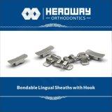 ホックが付いている歯科矯正学の製品の溶接できるLingual外装
