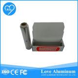 Rebobinamento do rolo da folha de alumínio e máquina de estaca