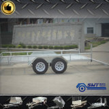 良質の傾斜路が付いているカスタマイズされた農業の車軸トレーラー