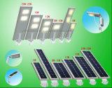 2016 o produto novo IP65 ao ar livre Waterproof tudo em uma lâmpada solar da luz de rua do diodo emissor de luz sem sensor