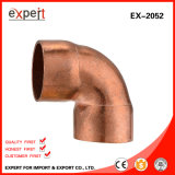 Rua 90 graus feitos no cotovelo do bronze de China