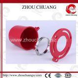 Vorsichtsmaßnahme-Stecker-Ventil-Aussperrung für Vorhängeschloß mit vier Größen