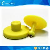 Modifica di orecchio animale popolare della gestione RFID del bestiame dell'azienda agricola di frequenza ultraelevata 860-960MHz
