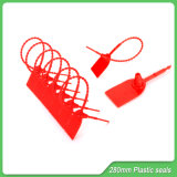 Пластиковые замки, 280мм длина, одноразовый пластиковый замок, пластиковые пломбы