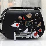 Colorear el pequeño bolso tachonado Emg4682 del diseñador del bolso de hombro de la colisión