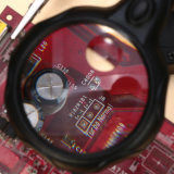 Hand助力Free 5LED拡大ガラスDesktop Loupe Soldering Magnifier