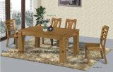 Rétro Tableau de salle à manger de type de bois solide