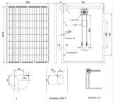 Панель солнечных батарей 145W Mono