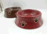 Piatto di ceramica del gatto