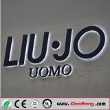 Segni delle entrate principali dei contrassegni della lettera del metallo illuminati LED