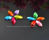 수정같은 모조 다이아몬드 아크릴 다이아몬드 (FB 배 13X18)에 배 13X18 접착제