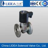 Fatto in Cina Flange Steam Solenoid Valve con Manual Function
