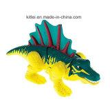 動物の一定の小さいプラスチックおもちゃのドラゴン