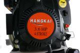 Motor refrescado aire 3.6HP del barco externo de 4-Stroke Hankgai