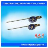 Segnalibri del metallo con il regalo del ricordo del contenitore di regalo e dell'argento dello smalto di marchio di abitudine