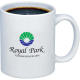 Latte Ceramic Mug con Logo
