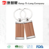 Bamboo Keychain Promotional Gift с Metal Ring