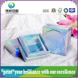 Laser 광택 있는 박판 고품질 피부 관리 포장 상자
