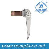 Ручка двери рукоятки замка ручки замка шкафа с замком (YH9685)