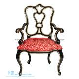 Madeira contínua do estilo europeu que janta a cadeira com braço (2116C)
