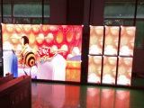 Farbenreiches P6.25 LED, das Bildschirmanzeige mit druckgegossenem Vorstand bekanntmacht