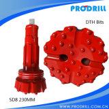 SD8-230mm Bank die Bits DTH boren