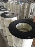 Spunbond Polyester Air Filter con Three Lugs