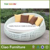 Salon de Sun extérieur de meubles de H-SGS avec le coussin résistant de l'eau de 10cm