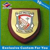 Blindaje de madera de la placa del trofeo del soporte de la alta calidad del fabricante de China