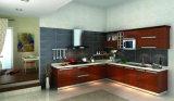 Gabinete de cozinha superior de vidro
