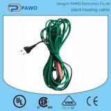 Cable térmico impermeable de la planta del PVC para los lugares de la humedad alta