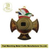 Het Medaillon van het Email van de douane van Hoogste Kwaliteit, de Medaille van het Metaal voor Carnaval